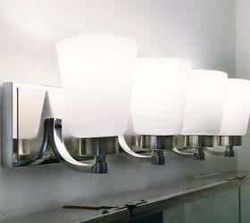 Bathroom Light Fixture Switchout Hometalk