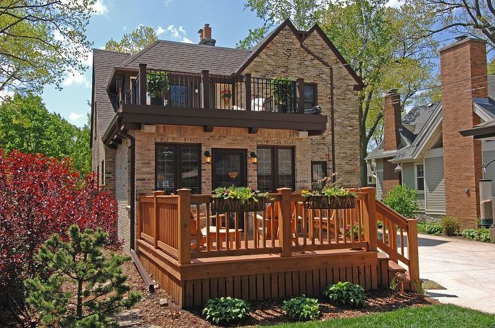 restoration antique home tudor, architecture, decks, home improvement