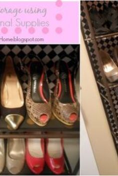 organization storage shoe shelf, closet, organizing, storage ideas