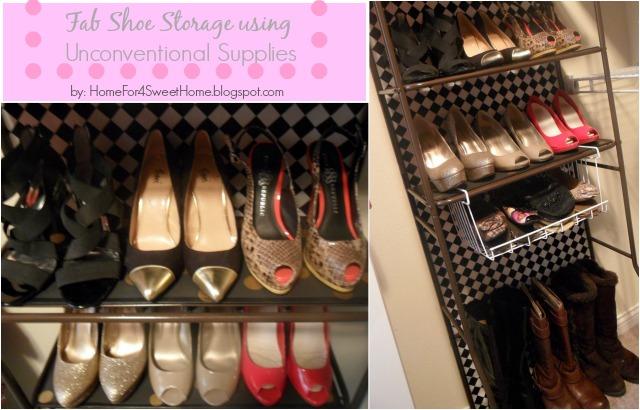 organization storage shoe shelf, closet, organizing, storage ideas