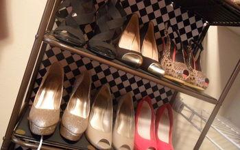 Fab Shoe Storage Using Unconventional Supplies