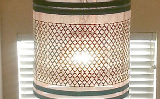 diy hanging lamp shade pottery barn, crafts, diy, lighting