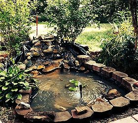 Merveilleux Pond Hand Made Backyard Project, Diy, Ponds Water Features