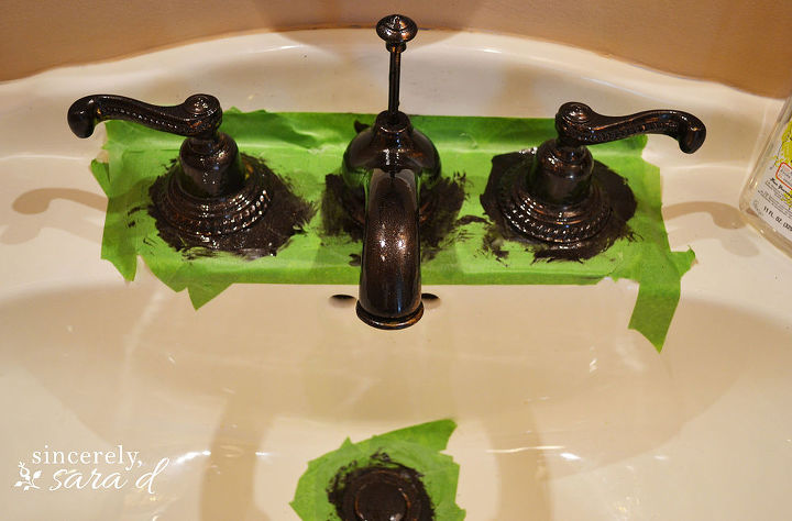 Painting Bathroom Faucet | Hometalk