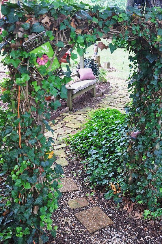 gardening backyard stone shed, gardening, landscape, outdoor living