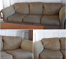 Charming How To Make A Saggy Sofa Look Brand New, Home Maintenance Repairs, Painted  Furniture