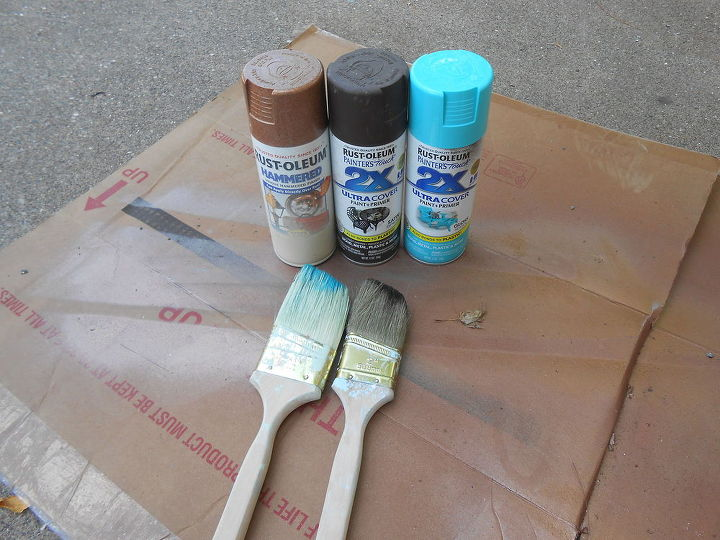 How To Spray Paint Easy Faux Copper Patina Hometalk