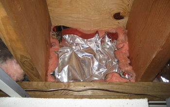 air sealing importance how to, basement ideas, home maintenance repairs, hvac, This is the insulation in place prior to removal