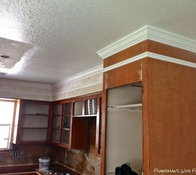 Kitchen Remodel Soffit Ceiling, Countertops, Diy, Flooring, Hardwood  Floors, Kitchen Cabinets