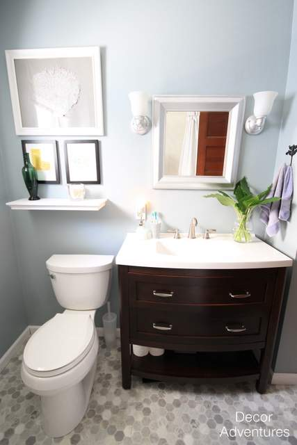 A Small Master Bathroom Makeover Hometalk - Small master bathroom makeover ideas