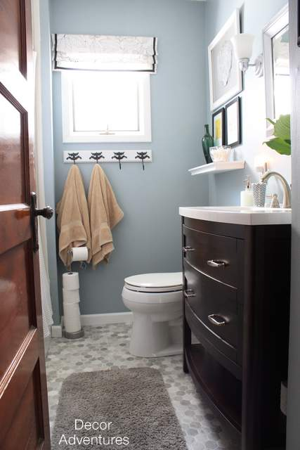 A Small Master Bathroom Makeover Hometalk - Redo master bathroom