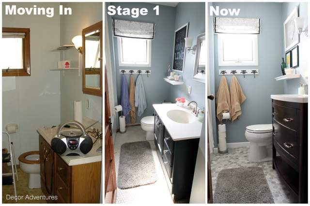 A Small Master Bathroom Makeover Hometalk - Small bath redo for small bathroom ideas