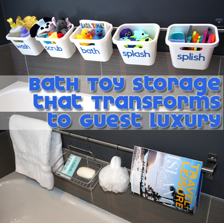 organization bath kids toys, bathroom ideas, organizing, storage ideas