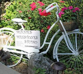 Amazing Gardening Art Bicycle Planter Repurpose Vintage, Container Gardening,  Flowers, Gardening, Repurposing Upcycling
