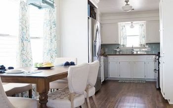 DIY Coastal Dining Room Makeover