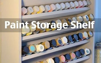 organization paint storage building, craft rooms, diy, organizing, woodworking projects