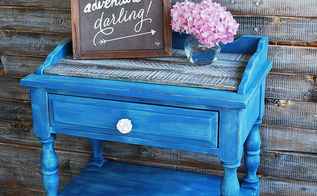 chalk paint table pallet custom blue, chalk paint, painted furniture, pallet, repurposing upcycling
