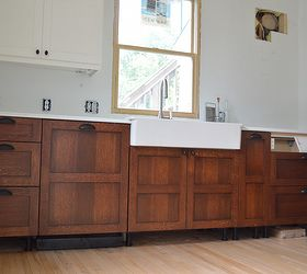 Kitchen Cabinets Staining Wood, Diy, Home Improvement, Kitchen Cabinets,  Kitchen Design,