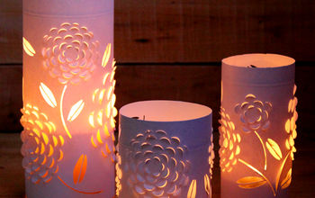 craft lantern glass pattern repurpose, crafts, repurposing upcycling