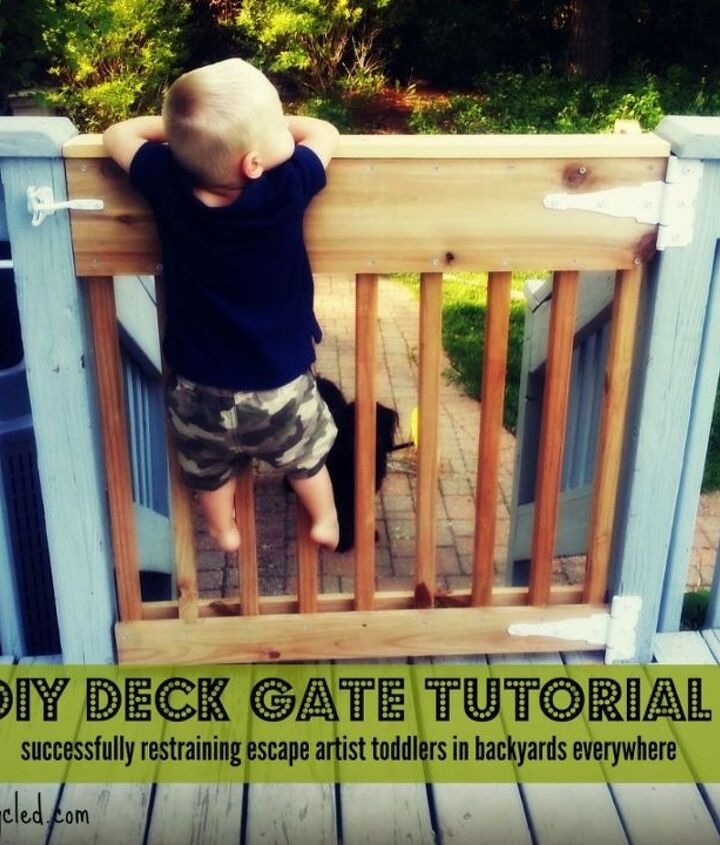 decks gate tutorial, decks, diy, fences, how to, woodworking projects