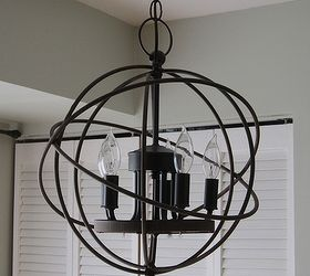 High Quality Chandelier Restoration Hardware Orb Knockoff, Lighting, Repurposing  Upcycling