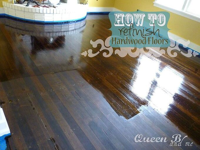 hardwood floors refinishing, diy, flooring, hardwood floors, how to