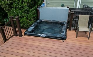 backyard ideas hot tub complete experience, decks, outdoor living, pool designs, spas, Hot Tub Covers