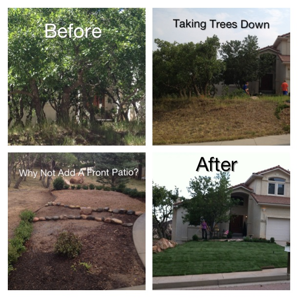 curb appeal front yard landscape makeover, curb appeal, gardening, landscape, outdoor living, patio