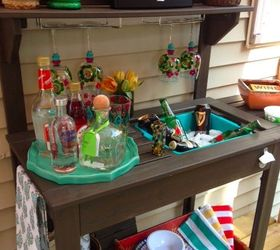 Outdoor Furniture Bar Decor Budget, Outdoor Living, Repurposing Upcycling  ...
