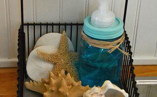 mason jar soap dispenser, mason jars, repurposing upcycling