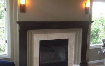 Fireplace Redo-Don't Buy a Mantel, Build Your Own!