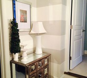 Beautiful Home Decor Stairway Landing Makeover, Foyer, Home Decor, Painting, Stairs,  Wall