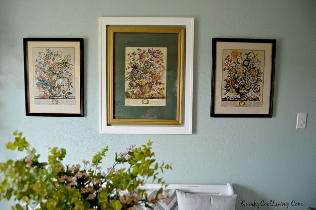 Wall Art Botanical Prints Dining Room Ideas Home Decor Repurposing Upcycling
