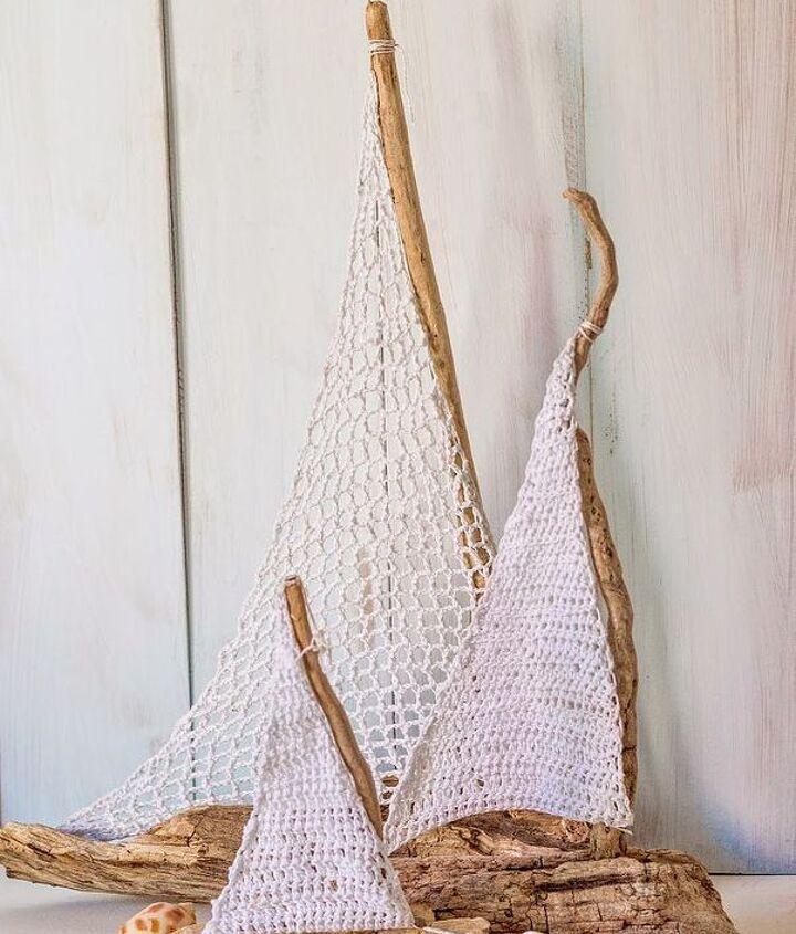 decorating beachy sailboat table decor, crafts, home decor