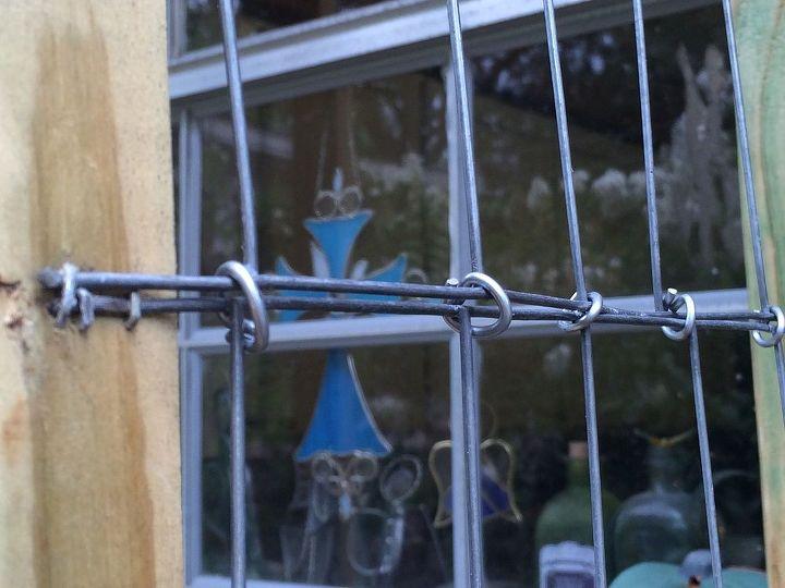 kitchen window trellis detail