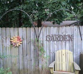 Lovely Fence Trellis Ideas Part - 12: Garden Ideas Trellises Inexpensive, Diy, Gardening, Outdoor Living, Back Fence  Trellis