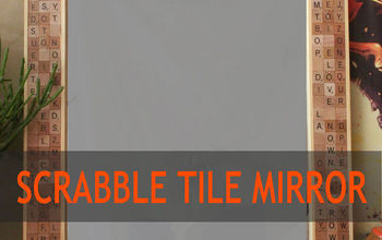 Scrabble Tile Mirror