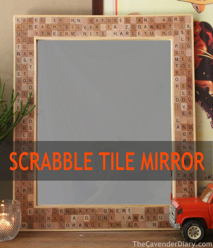Diy scrabble tile mirror hometalk diy mirror scrabble tile crafts wall decor woodworking projects solutioingenieria Choice Image