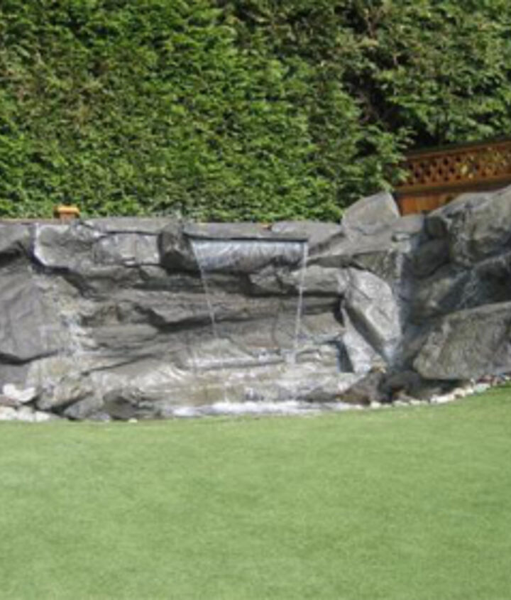 garden ideas rocks artificial creating, diy, how to, landscape, ponds water features