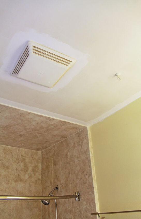 how to paint a bathroom ceiling hometalk. Black Bedroom Furniture Sets. Home Design Ideas