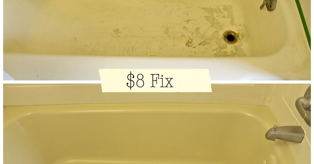 How To Fix A Chipped Bathtub Floor Hometalk
