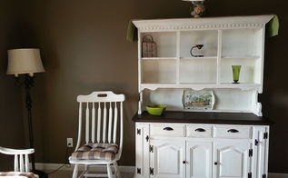 chalk paint cabinet chest painting, painted furniture