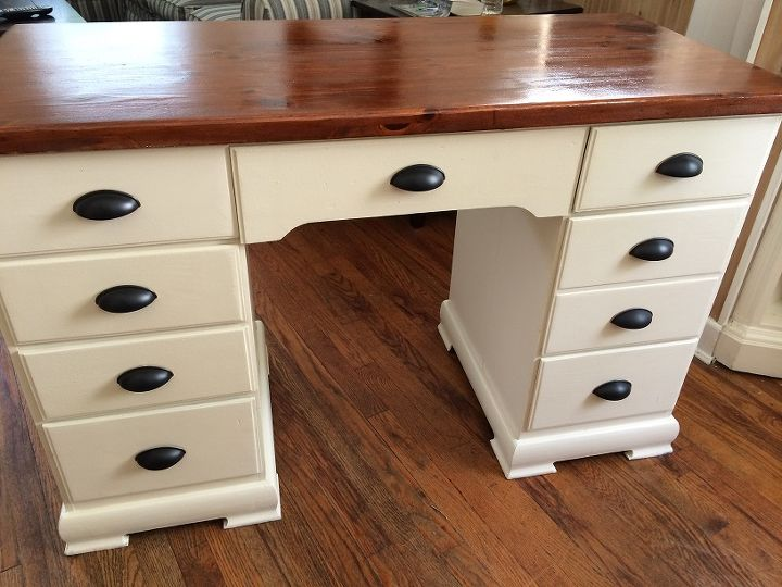 painted furniture desk antique white, painted furniture