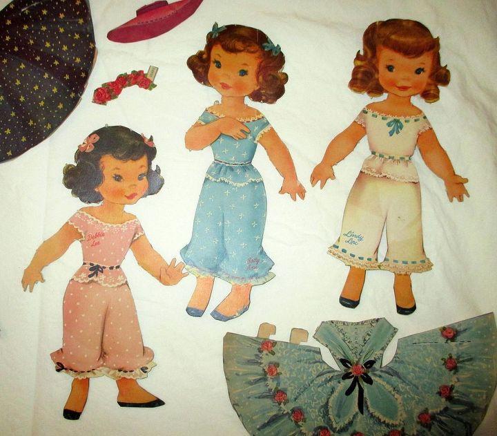 q decoupage paper dolls vintage ideas, crafts, decoupage
