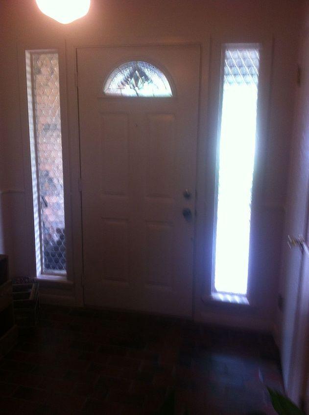foyer remodel wood entryway, diy, foyer, home improvement, wall decor