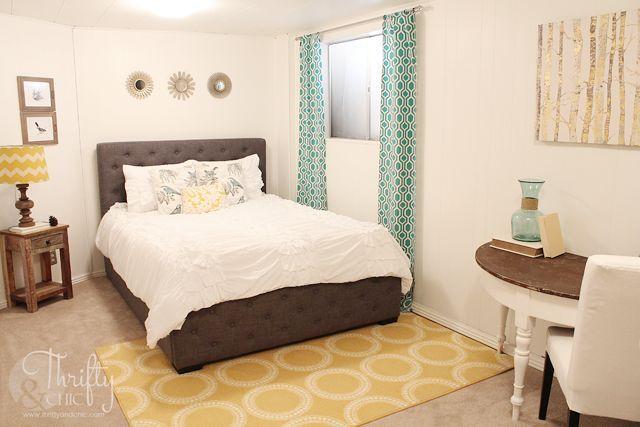 1970s wood panel bedroom bright makeover hometalk