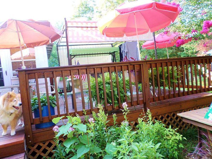 decks garden north carolina backyard, decks, flowers, landscape, outdoor furniture, outdoor living