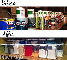 organizing paint storage basement organizing storage ideas & Basement Paint Storage u0026 Organization | Hometalk