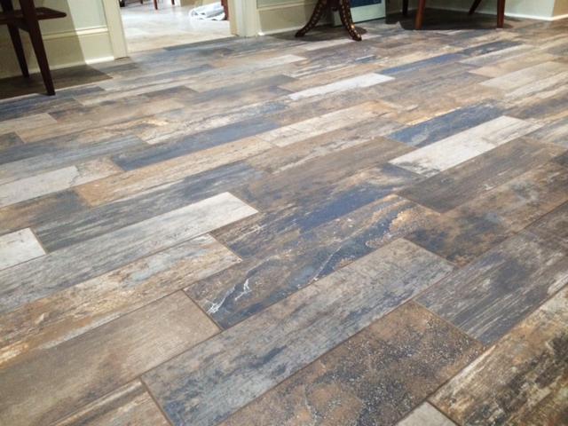 Barn Wood Tile Flooring