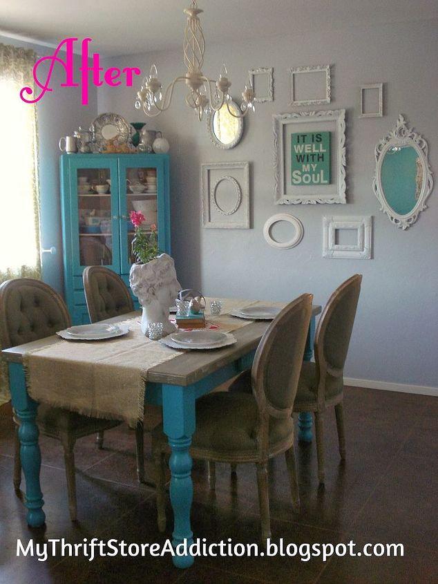 Shabby Chic Dining Room Reveal Hometalk